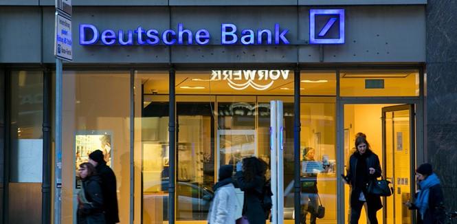 Khó khăn của Deutsche Bank, thất bại của châu Âu