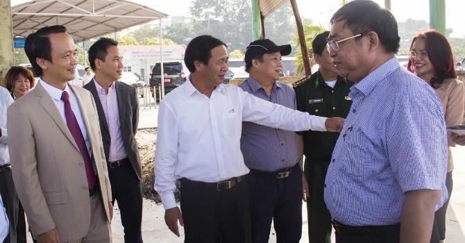 FLC khảo sát triển khai dự án tại Đồ Sơn