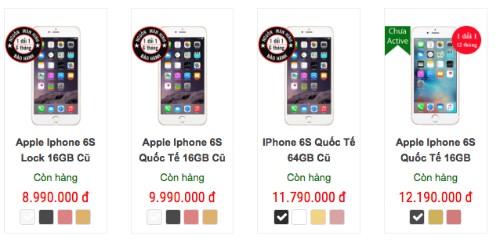 iPhone 6s giảm giá hàng triệu đồng vì iPhone 7