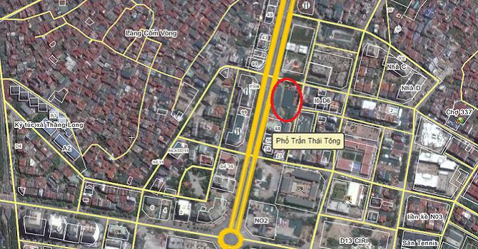 Hà Nội điều chỉnh cục bộ quy hoạch khu đô thị mới Cầu Giấy