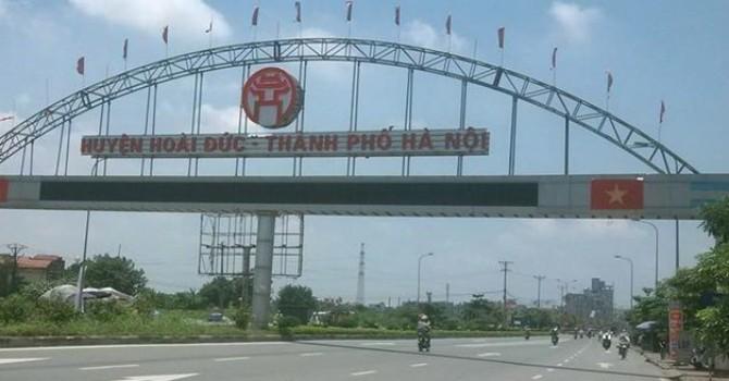 Hà Nội: Tuyến đường mới dài 0,94km sẽ khiến đất Hoài Đức có giá hơn