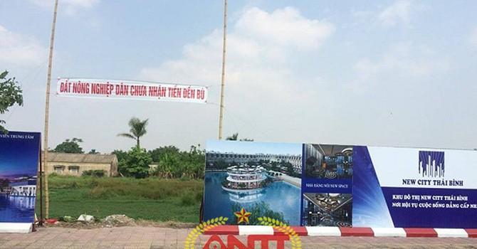 Dự án New City Thái Bình: Doanh nghiệp cướp đất của dân?