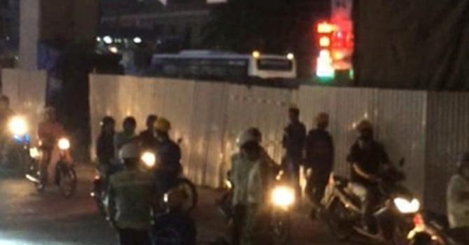Dự án đường sắt Cát Linh-Hà Đông: Công nhân lại rơi xuống đường