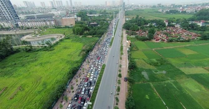 Hà Nội làm đường nối từ cầu Mỗ Lao đến đường 70 quận Nam Từ Liêm