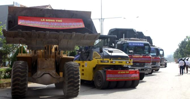 Động thổ dự án nâng cấp Quốc lộ 6 Hòa Bình - Sơn La