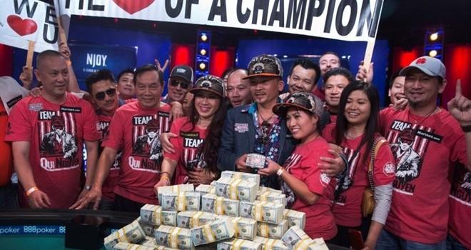 Việt kiều làm móng trở thành vua poker mới trên đất Mỹ