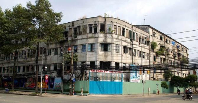 TP.HCM: Không bồi thường mà tái định cư tại chỗ khi cải tạo chung cư cũ