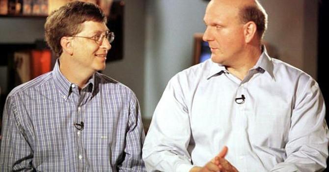 Smartphone đã hủy hoại quan hệ giữa Steve Ballmer với Bill Gates