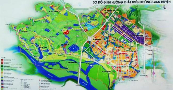 Hà Nội phê duyệt thị trấn Kim Hoa thành trung tâm mới của huyện Mê Linh