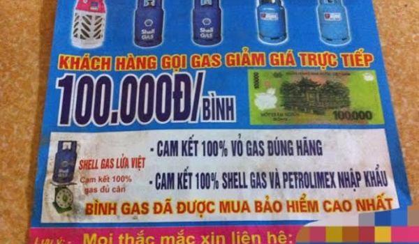 """Vạch trần chiêu trò """"móc túi"""" khách hàng đằng sau gas giá rẻ"""