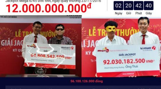 Vietlott bán bao nhiêu vé mới đủ tiền trả tiền hơn 284 tỷ đồng?