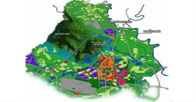 Hà Nội duyệt nhiệm vụ quy hoạch đô thị vệ tinh Sóc Sơn
