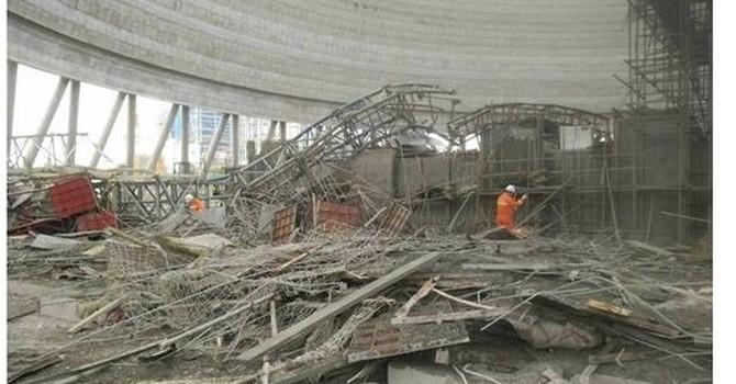 Sập sàn xây dựng nhà máy điện ở Trung Quốc, 40 người thiệt mạng
