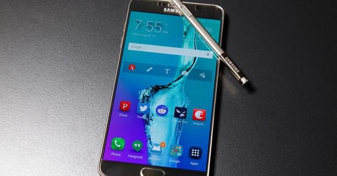 Samsung đang bắt đầu biến Note 5 thành Note 7?