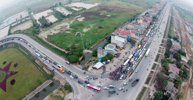 Hà Nội duyệt quy hoạch hai bên đường 70 kéo dài, nối Quốc lộ 1A - Quốc lộ 1B