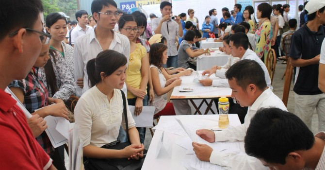 Sinh viên Việt Nam đứng chót bảng xếp hạng lương kỳ vọng sau khi ra trường
