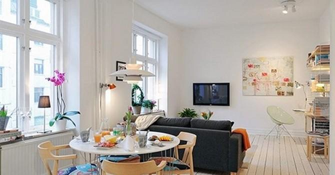 Chiêm ngưỡng căn hộ 40m2 bố trí nội thất hiện đại và khéo léo