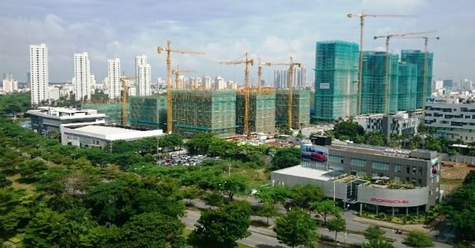 CBRE dự báo hơn 43.800 căn hộ sẽ được tung ra thị trường TP.HCM năm 2017