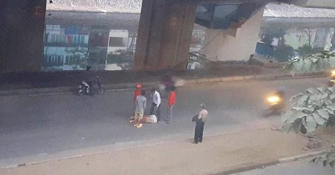Xác minh vụ công nhân rơi từ nhà ga đường sắt Cát Linh - Hà Đông