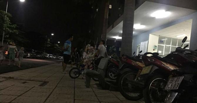 Hàng trăm cư dân Tín Phong 12 View kinh sợ vì ngỡ chung cư… sập