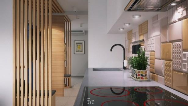 Căn hộ chỉ 34m2 có không gian nội thất thoáng đáng khiến vạn người mê