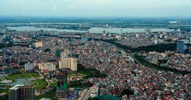 Năm 2017, các quận Hoàn Kiếm, Ba Đình, Cầu Giấy, Nam Từ Liêm không phát sinh dự án mới