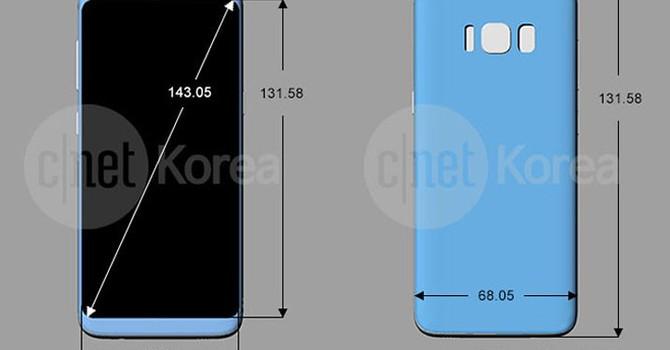 """Samsung Galaxy S8 dùng """"màn hình vô cực""""?"""