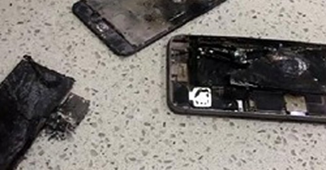 iPhone 6 Plus phát nổ ngay trên tay người dùng trong tiệm sửa điện thoại