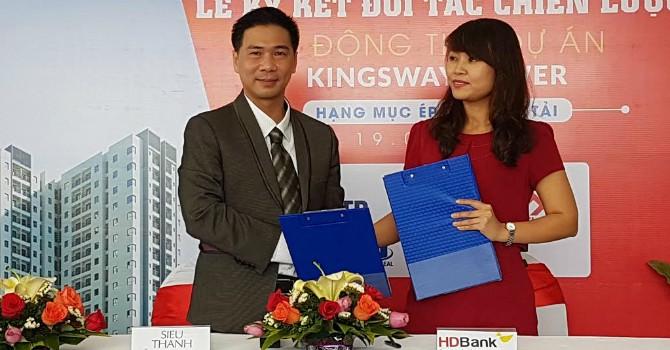 HDBank tài trợ cho dự án căn hộ Kingsway Tower