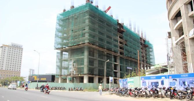 Xử phạt 1 tỷ đồng, đình chỉ thi công tòa nhà Central Coast ở Đà Nẵng