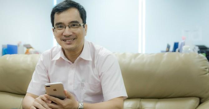 """TS. Ngô Trần Công Luận: U50 khởi nghiệp lần thứ ba với """"thương mại siêu tốc"""""""