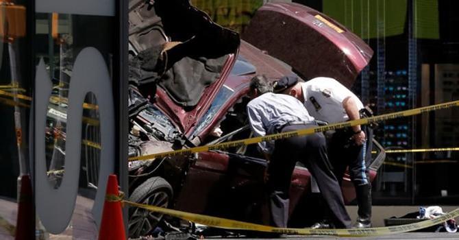 Tấn công bằng xe hơi ở New York, 23 người thương vong