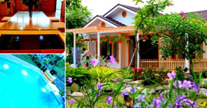 Những khu nhà vườn triệu USD ngắm mỏi mắt ở Việt Nam