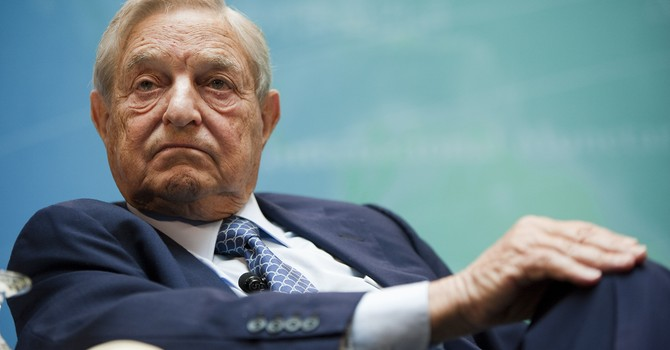 """George Soros """"chơi liều"""", tăng đặt cược chứng khoán Mỹ đi xuống"""