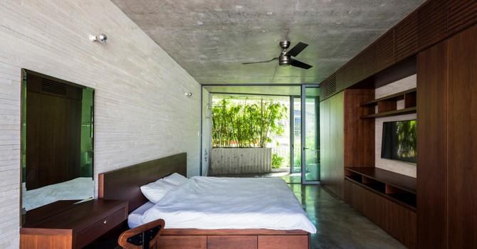 Căn nhà tre độc đáo trong hẻm Sài Gòn