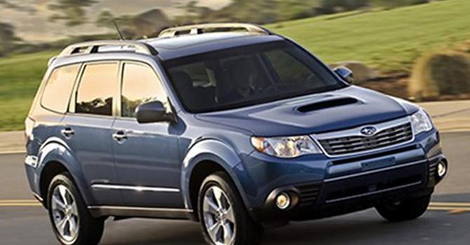 Subaru Việt Nam triệu hồi Forester vì lỗi túi khí