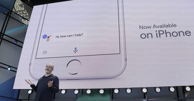 iPhone 8 có thể dùng trợ lý ảo của Google