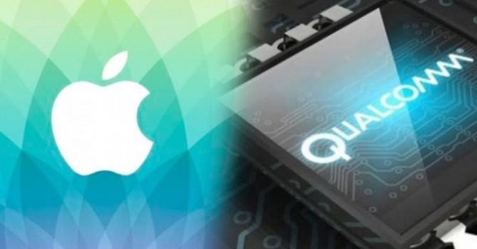 Apple kiện Qualcomm cản trở sự phát triển ngành điện tử