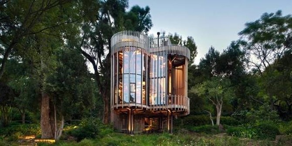 Khám phá ngôi nhà trên cây tiện nghi chẳng thua gì khách sạn 5 sao
