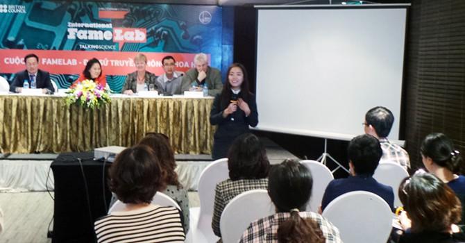 Cơ hội trở thành đại diện truyền thông khoa học tại Việt Nam