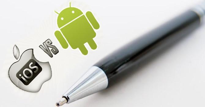 Chớ nên so sánh Android và iOS