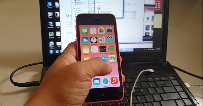 Đã xử lý được lỗi nhắn tin sang Nhật ở iPhone 5C Docomo