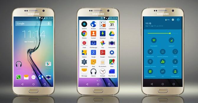 Samsung được đánh giá cao về tùy biến TouchWiz