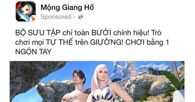 Game Mộng Giang Hồ quảng cáo bằng yếu tố kích dục: Công ty ME Corp phủ nhận