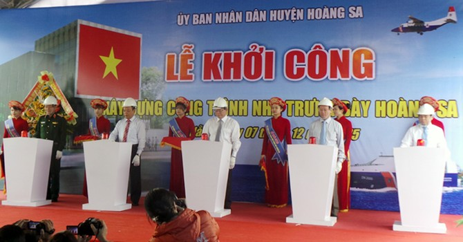 Đà Nẵng: Khởi công nhà trưng bày Hoàng Sa