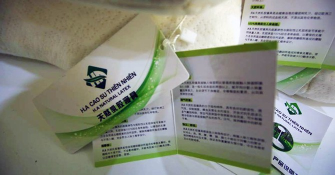 Đà Nẵng: Phạt 2 showroom vi phạm nhãn hàng hóa