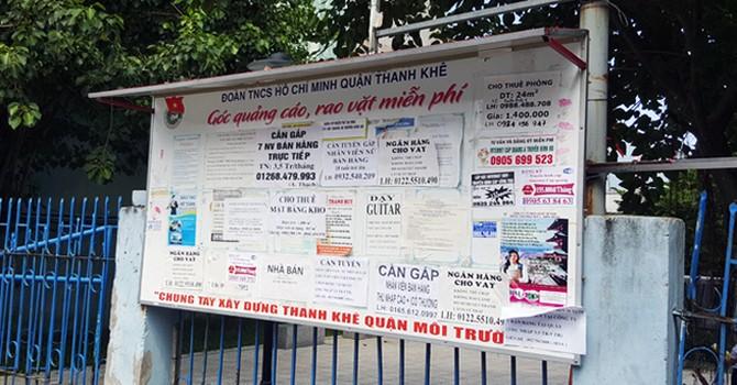 Đà Nẵng: Đã dứt điểm nạn tờ rơi, rao vặt vỉa hè