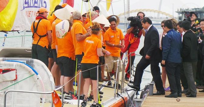 Đà Nẵng: Cuộc đua thuyền buồm quốc tế đã cập cảng sông Hàn