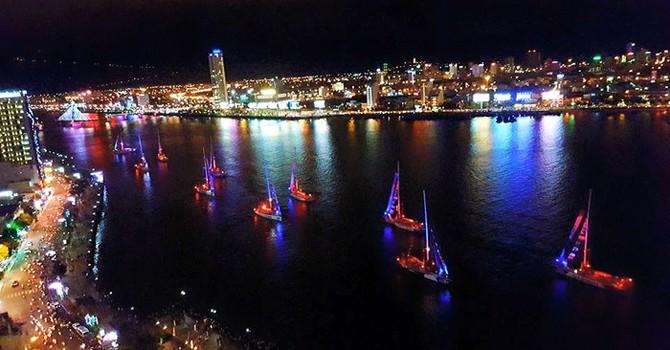 Đà Nẵng: Diễu hành thuyền buồm Clipper kém hấp dẫn