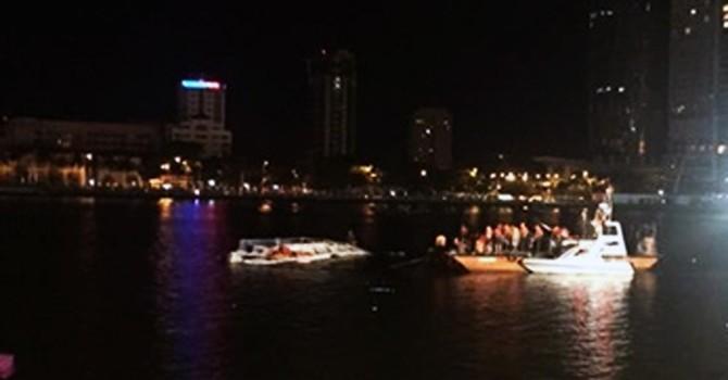 Đà Nẵng: 43 người đã được cứu nạn trong vụ lật thuyền